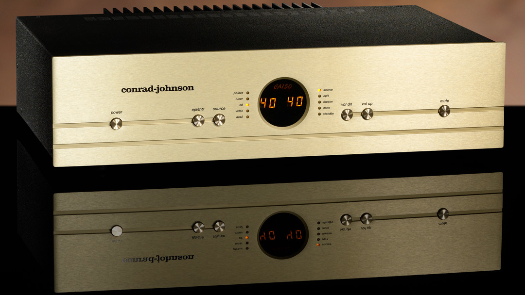 conrad-johnson CA150 Solid State Control Amplifier beauty 1080 16-9
