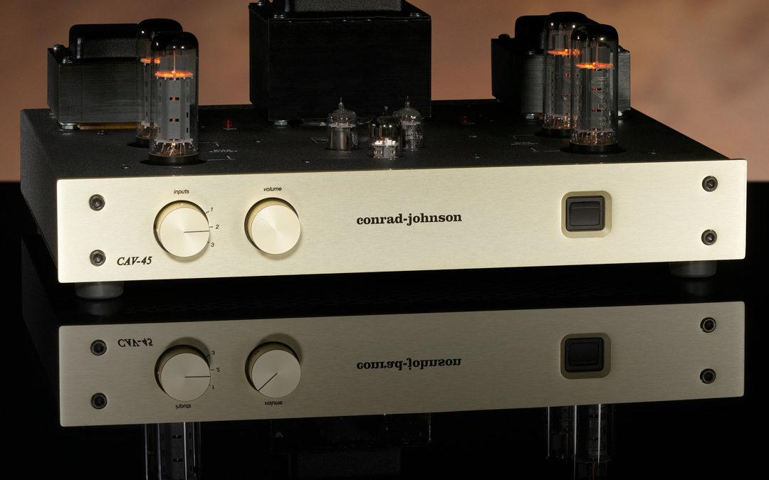 announcing theCAV-45control amplifier