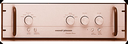 conrad-johnson Premier Three Vacuum Tube Pre-Amplifier