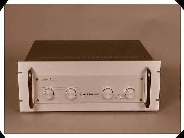 conrad-johnson evolution ev20 zero feedback pramplifier