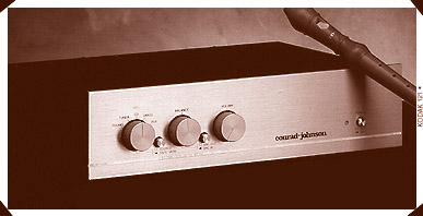 conrad-johnson PV10 Preamplifier