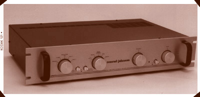 conrad-johnson PV11 Preamplifier