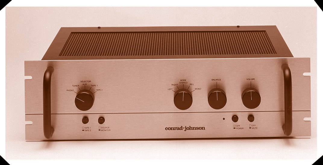 conrad-johnson Premier Two 2 Vacuum Tube Pre-Amplifier
