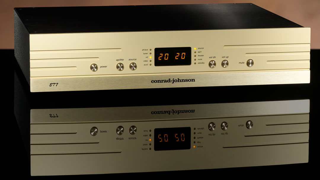 announcing the ET7 line-stage preamplifier