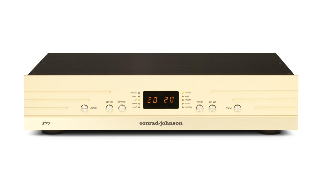 conrad-johnson ET5 enhanced triode line-stage preamplifier