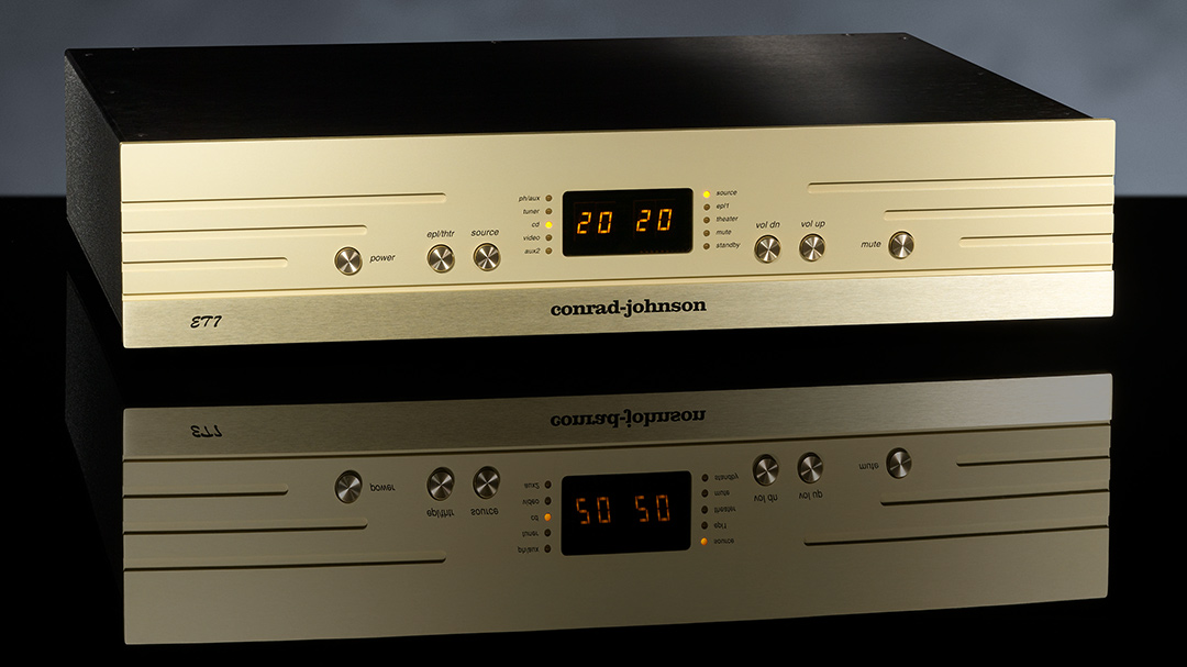 conrad-johnson ET7 enhanced triode line-stage preamplifier