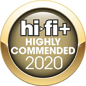HiFi+ Awards Commended 2020